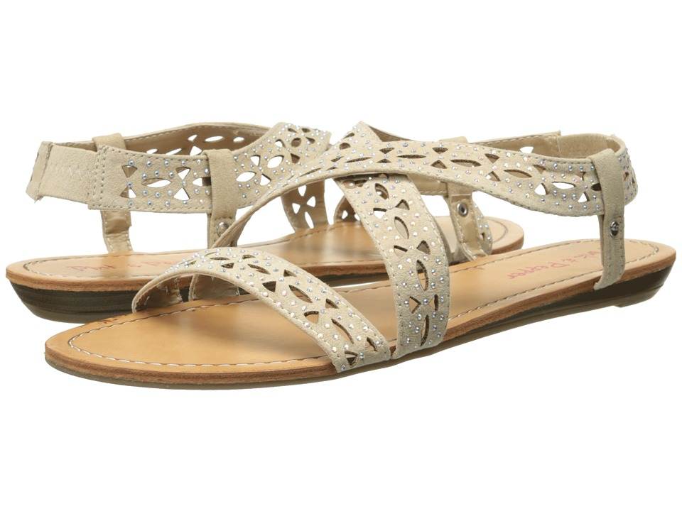 Pink & Pepper - Millie (Sand Camoscio Suede) Women's Sandals