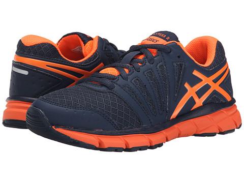 ASICS Kids - Gel-Lyte33 2 GS (Little Kid/Big Kid) (Deep Blue/Hot Orange/Navy) Boys Shoes