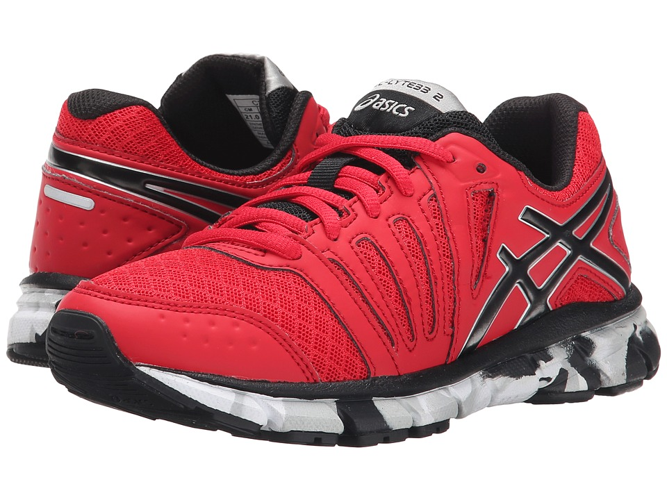 ASICS Kids - Gel-Lyte33 2 GS (Little Kid/Big Kid) (Fiery Red/Black/Silver) Boys Shoes