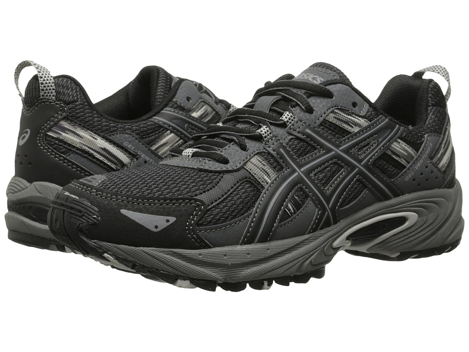 ASICS Kids - Gel-Venture 5 GS (Little Kid/Big Kid) (Black/Onyx/Charcoal) Boys Shoes