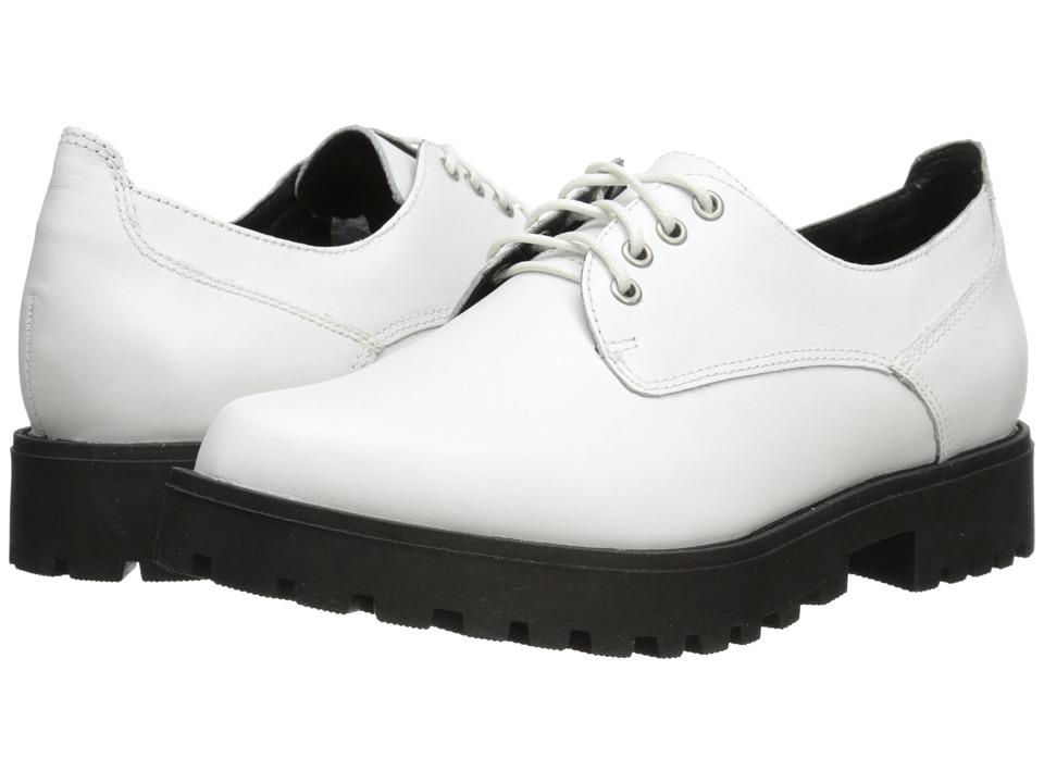 Steve Madden Dewwars (White Leather) Women