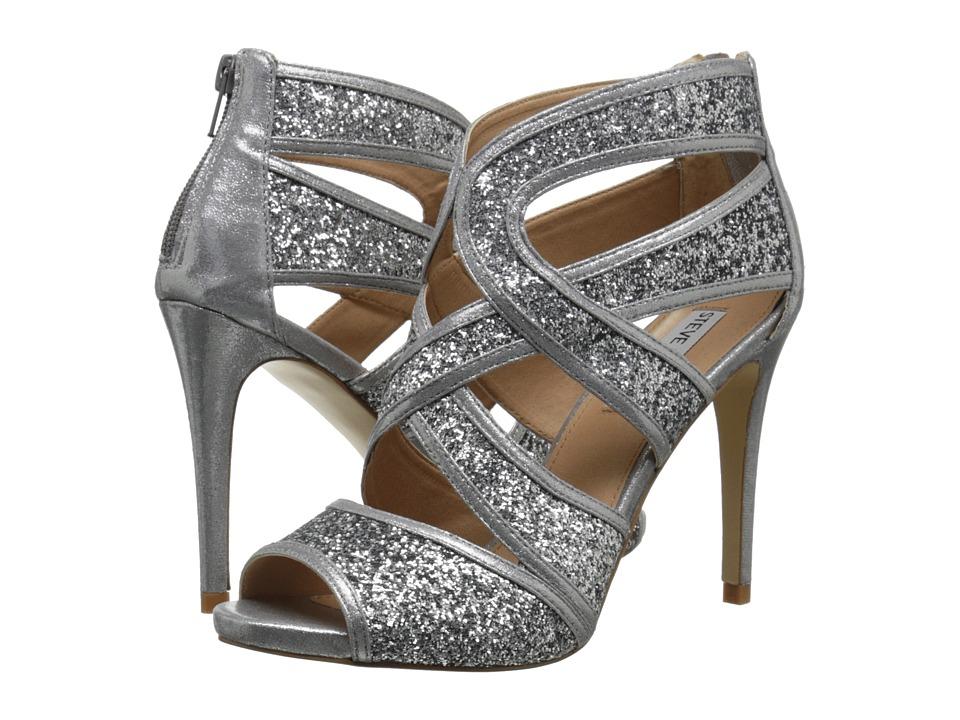 Steve Madden Immence (Silver Glitter) High Heels