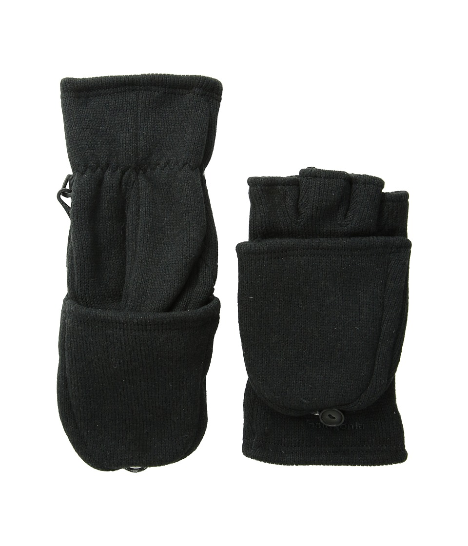 Patagonia - Better Sweater Gloves (Black) Extreme Cold Weather Gloves