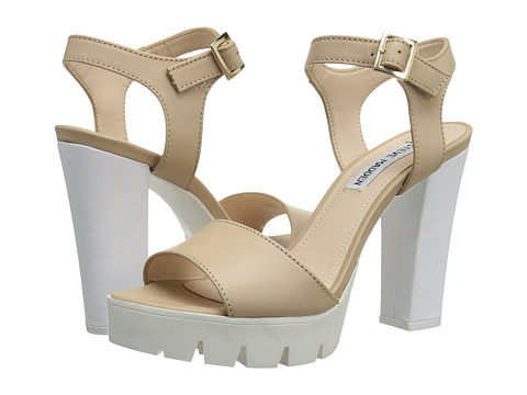Steve Madden - Traviss (Natural Leather) High Heels