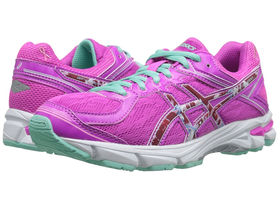 ASICS Kids - GT-1000 4 GS PR (Little Kid/Big Kid) (Pink Glow/Hot Pink/Pink Ribbon) Girls Shoes