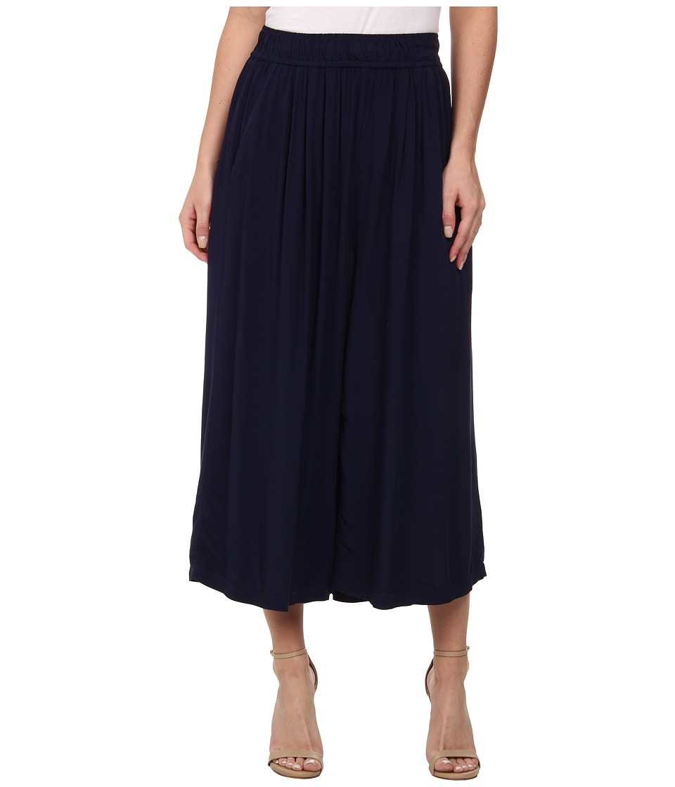 Michael Stars - Modern Rayon Culotte w/ Elastic Waist (Passport) Women's Casual Pants