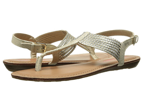 Pink & Pepper - Mega (Gold) Women's Sandals