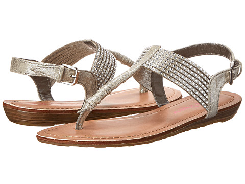 Pink & Pepper - Mega (Silver) Women's Sandals