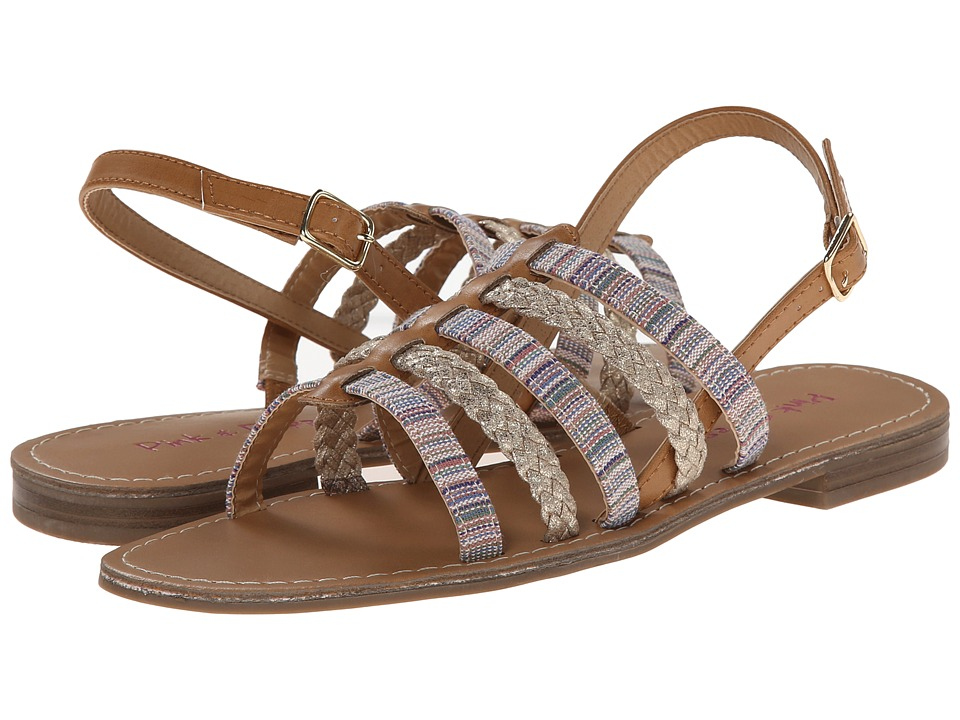 Pink & Pepper - Hippie (Sand/Gold) Women's Sandals