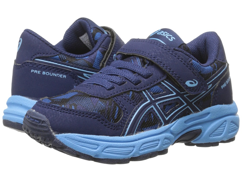 ASICS Kids - Pre-Bounder PS (Toddler/Little Kid) (Indigo Blue/Sky Blue/Blue) Boys Shoes