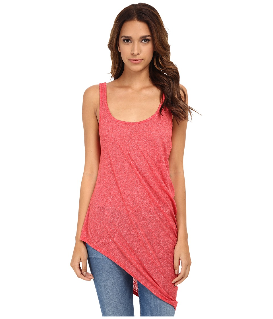 Michael Stars - Brooklyn Jersey Sleeveless Tank Top (Tomato) Women's Sleeveless