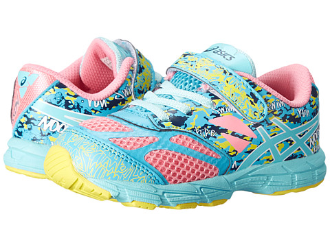 ASICS Kids - Gel-Noosa Tri 10 TS (Toddler) (Candy Pink/Aqua Splash/Blue) Girls Shoes
