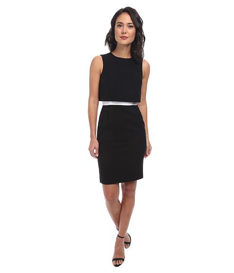 Calvin Klein - Lux Popover CD4X1028 (Black/White) Women
