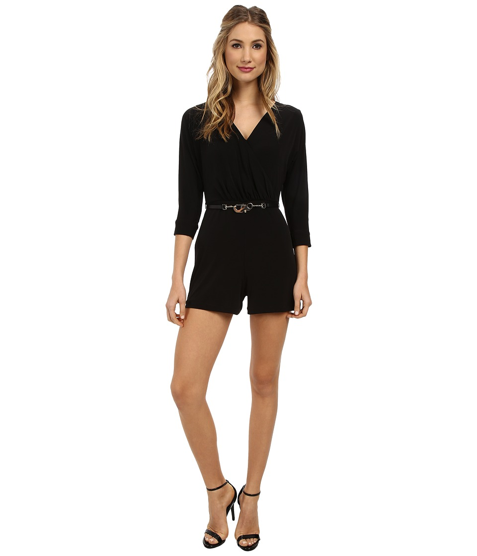 Calvin Klein - Romper CD4A1462 (Black) Women's Jumpsuit & Rompers One Piece