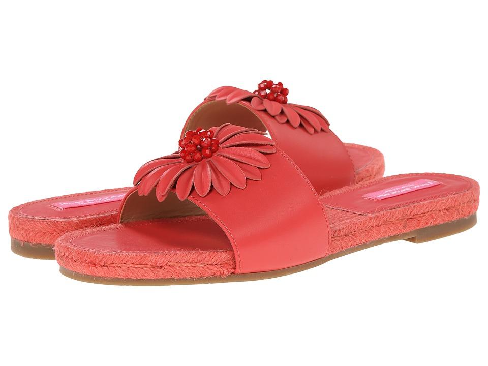 Isaac Mizrahi New York - Magnolia (Coral) Women's Slide Shoes