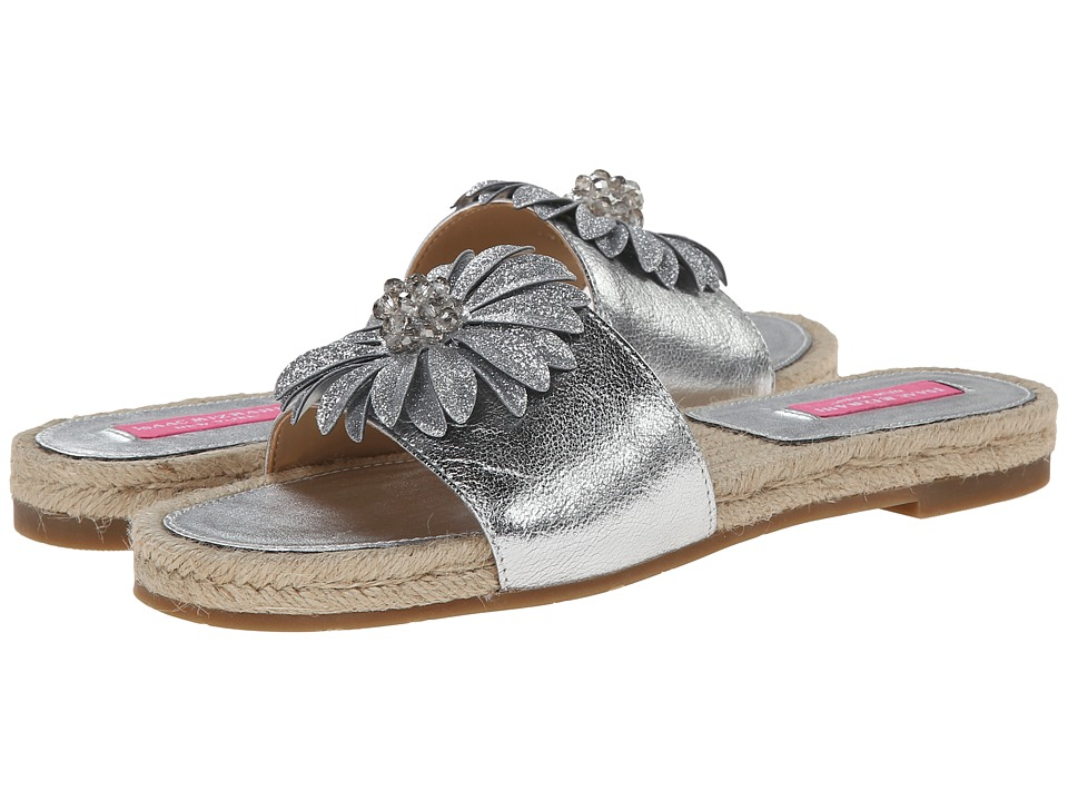 Isaac Mizrahi New York - Magnolia (Silver) Women's Slide Shoes