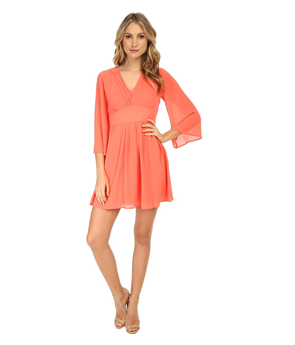 Brigitte Bailey - Kelly Dress (Coral) Women's Dress