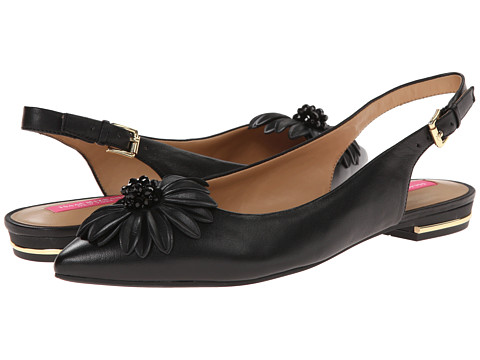 Isaac Mizrahi New York - Gladiola (Black) Women's Dress Flat Shoes