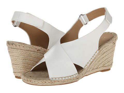Isaac Mizrahi New York - Iriss (White) Women's Wedge Shoes