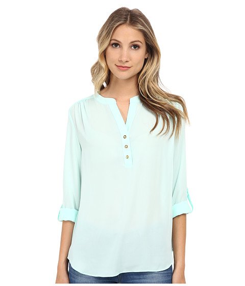 Brigitte Bailey - Karen Blouse (Mint) Women's Blouse