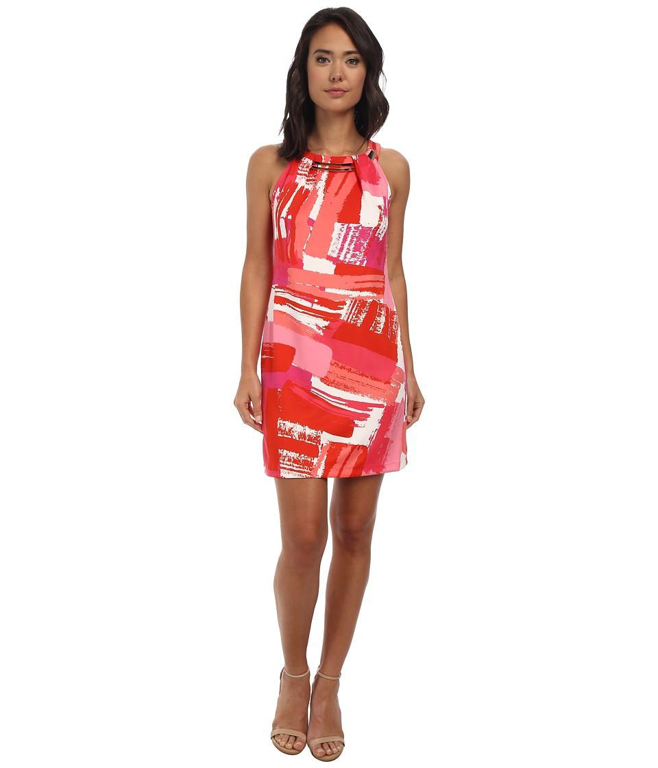 rsvp - Aurora Sleeveless Dress (Poppy/Pink Multi) Women's Dress