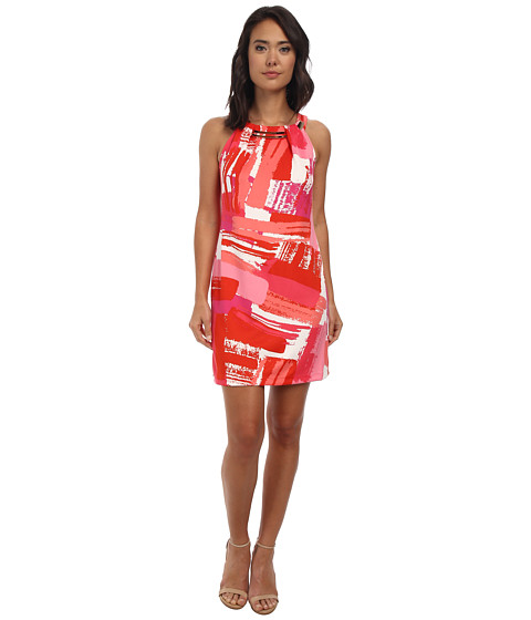 rsvp - Aurora Sleeveless Dress (Poppy/Pink Multi) Women's Dress