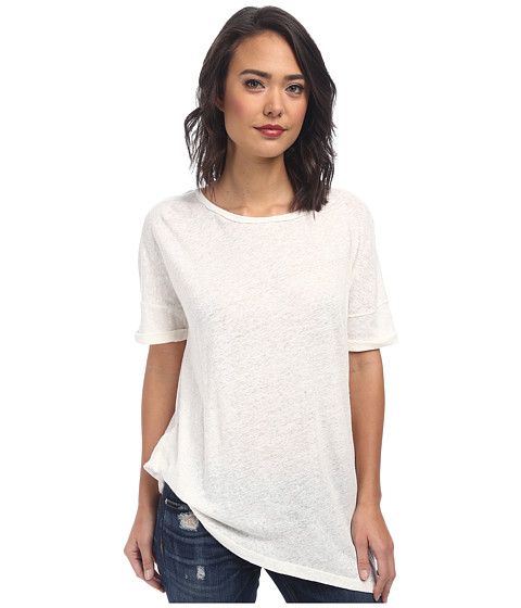 Free People - Sunday Tee (Ivory) Women's Short Sleeve Pullover