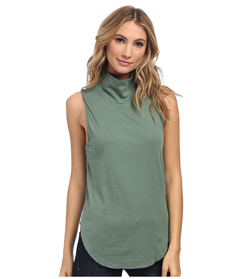Free People - 90210 Muscle Tank (Army) Women