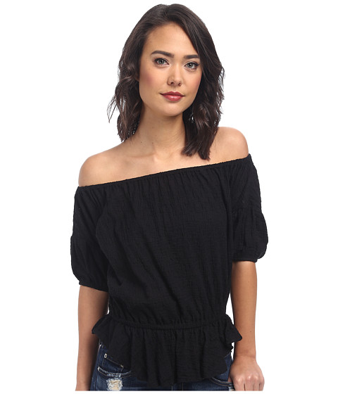 Free People - Shades Of Cool Top (Black) Women