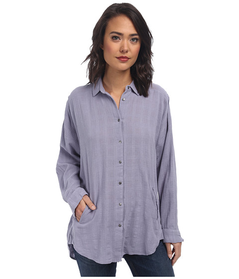 Free People - Indian Summer Top (Chambray 2) Women's Clothing