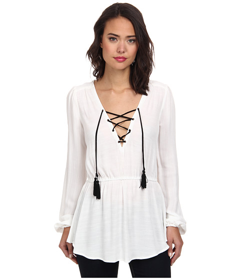 Free People - Wild Moments Tunic (Ivory) Women