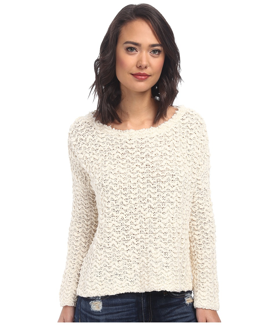Free People - Everlasting Po Sweater (Vanilla) Women's Sweater
