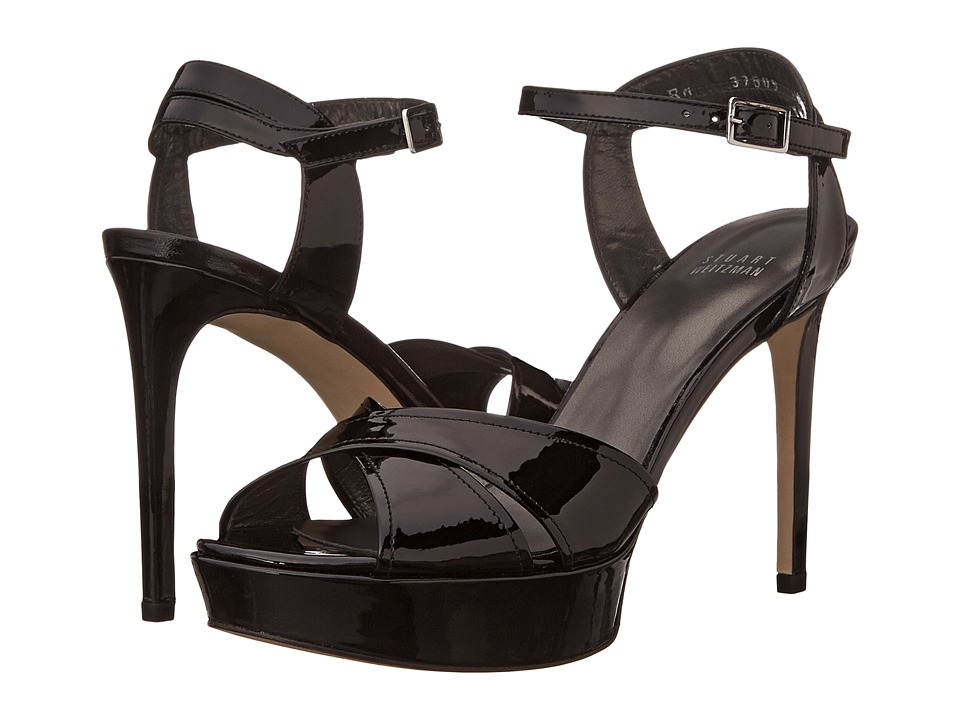 Stuart Weitzman - Nexus (Black Patent) High Heels