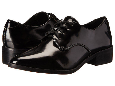 Steve Madden - Worth St (Black Box) Women's Lace Up Cap Toe Shoes