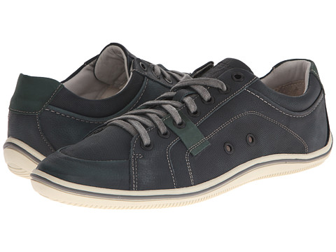 Sebago - Fletcher Lace Up (Navy Embossed Nubuck) Men's Lace up casual Shoes