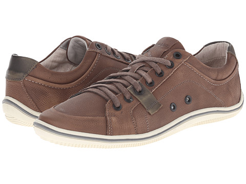 Sebago - Fletcher Lace Up (Brown Embossed Nubuck) Men's Lace up casual Shoes