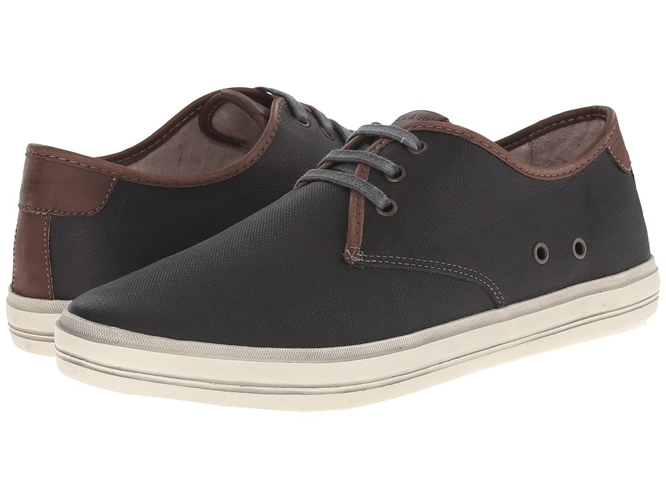 Sebago - Glover Plain Toe (Black Embossed Nubuck) Men's Plain Toe Shoes