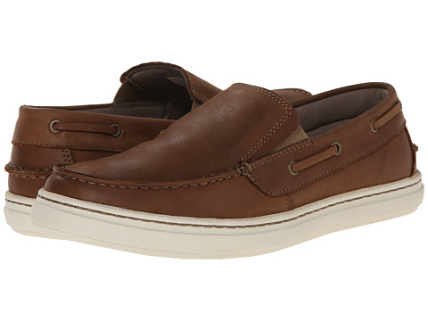 Sebago - Windhall Slip-On (Brown Leather) Men's Slip on Shoes
