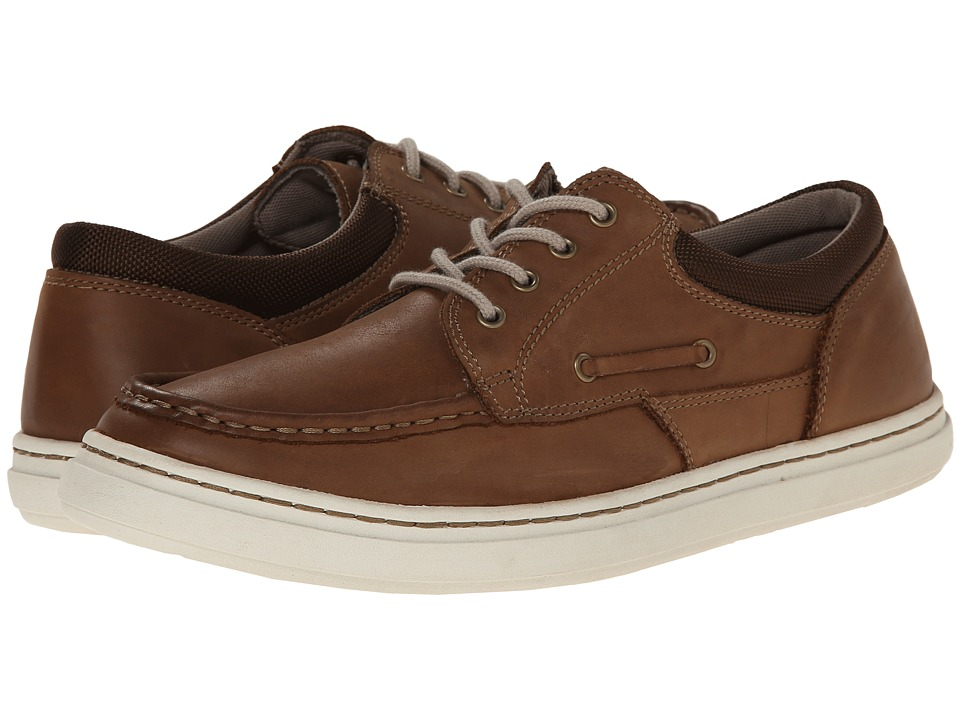 Sebago - Windhall Four Eye (Brown Leather) Men's Lace up casual Shoes