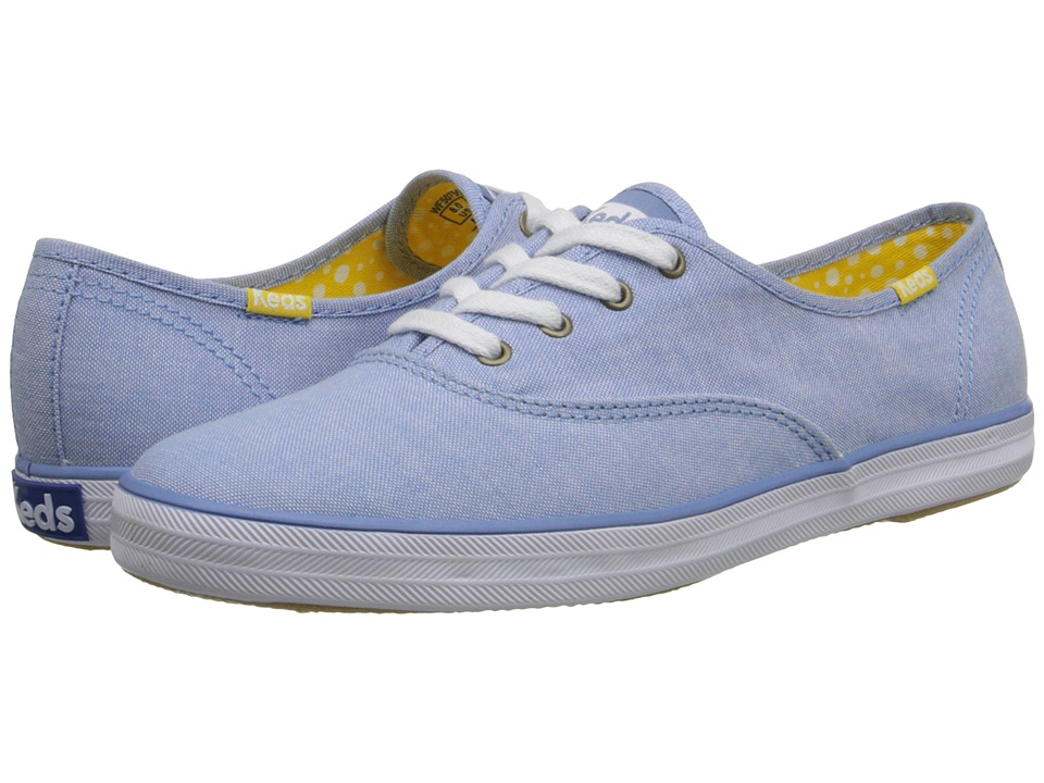Keds - Champion Chambray (Blue Chambray) Women's Lace up casual Shoes