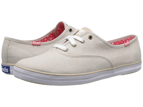 Keds - Champion Chambray (Tan Chambray) Women