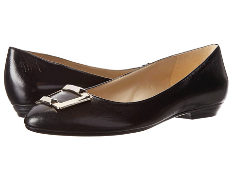 Naturalizer - Paola (Black Leather) Women's Shoes