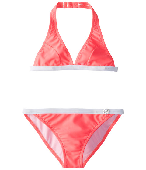 Armani Junior - Triangle Two-Piece Swimsuit (Big Kids) (Pink) Girl