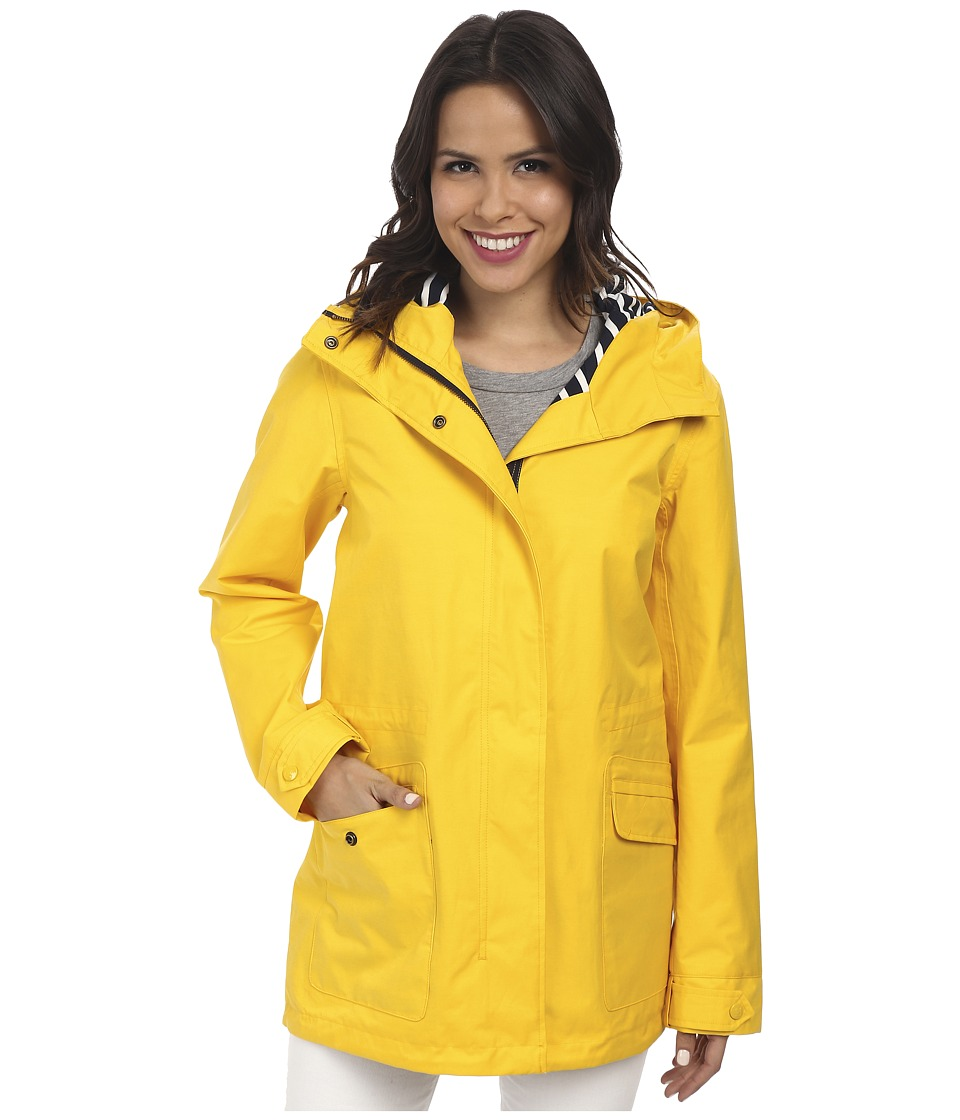 Hatley - Soft Shell Rain Jacket (Yellow) Women's Jacket