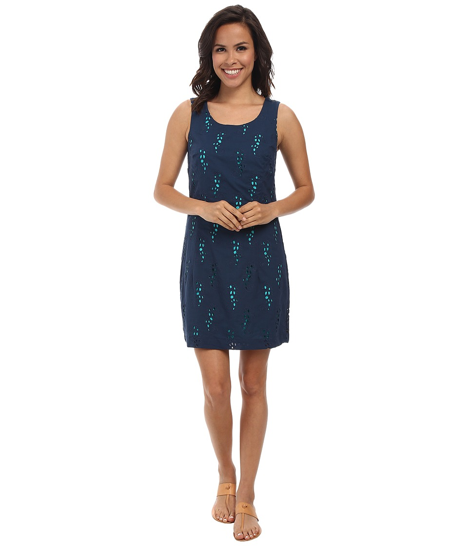 Hatley - Shift Dress (Navy Seahorses) Women's Dress