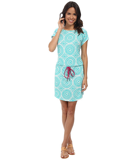 Hatley - Dropped Waist Dress (Mosaic Vista Mar) Women