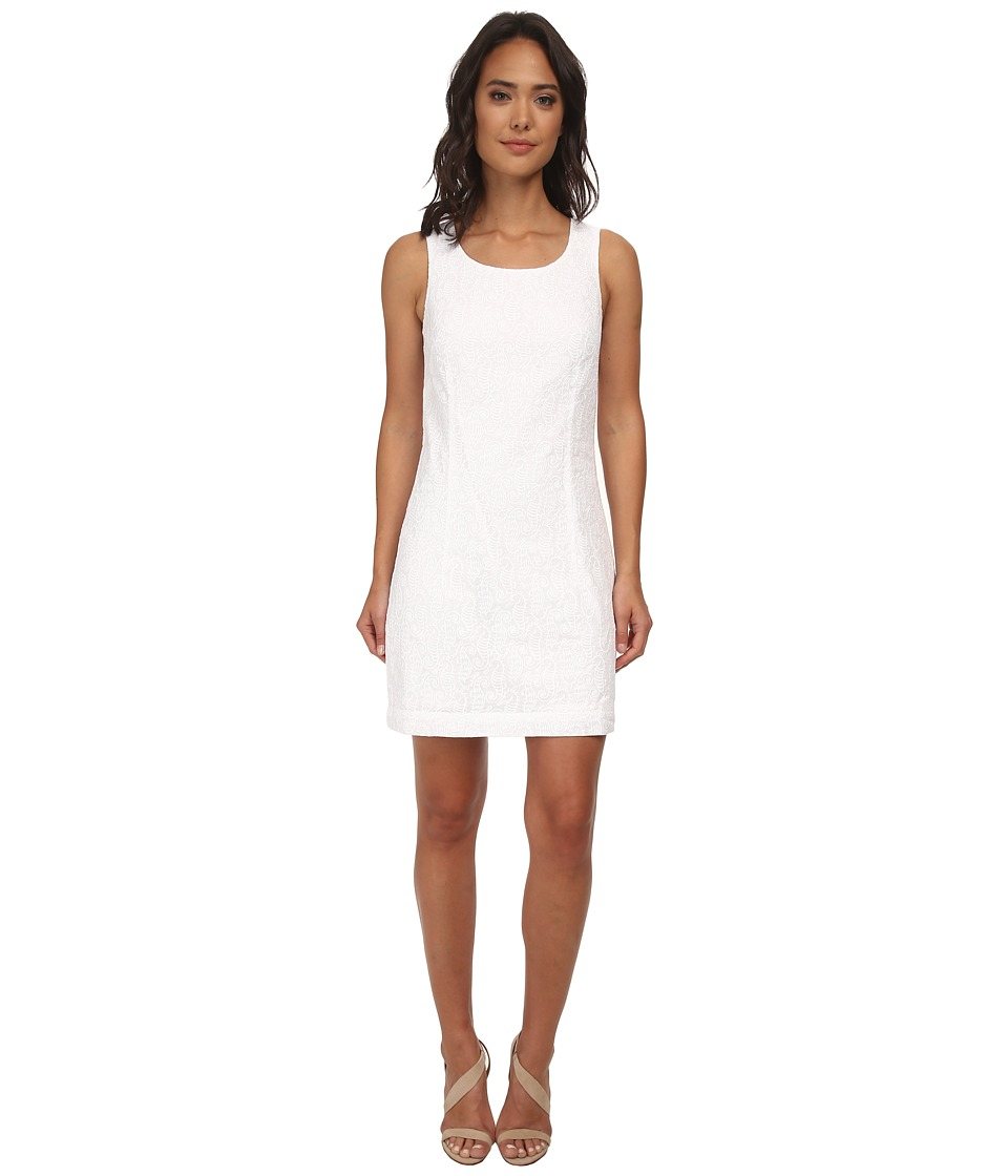 Hatley - Shift Dress (White Seahorses) Women