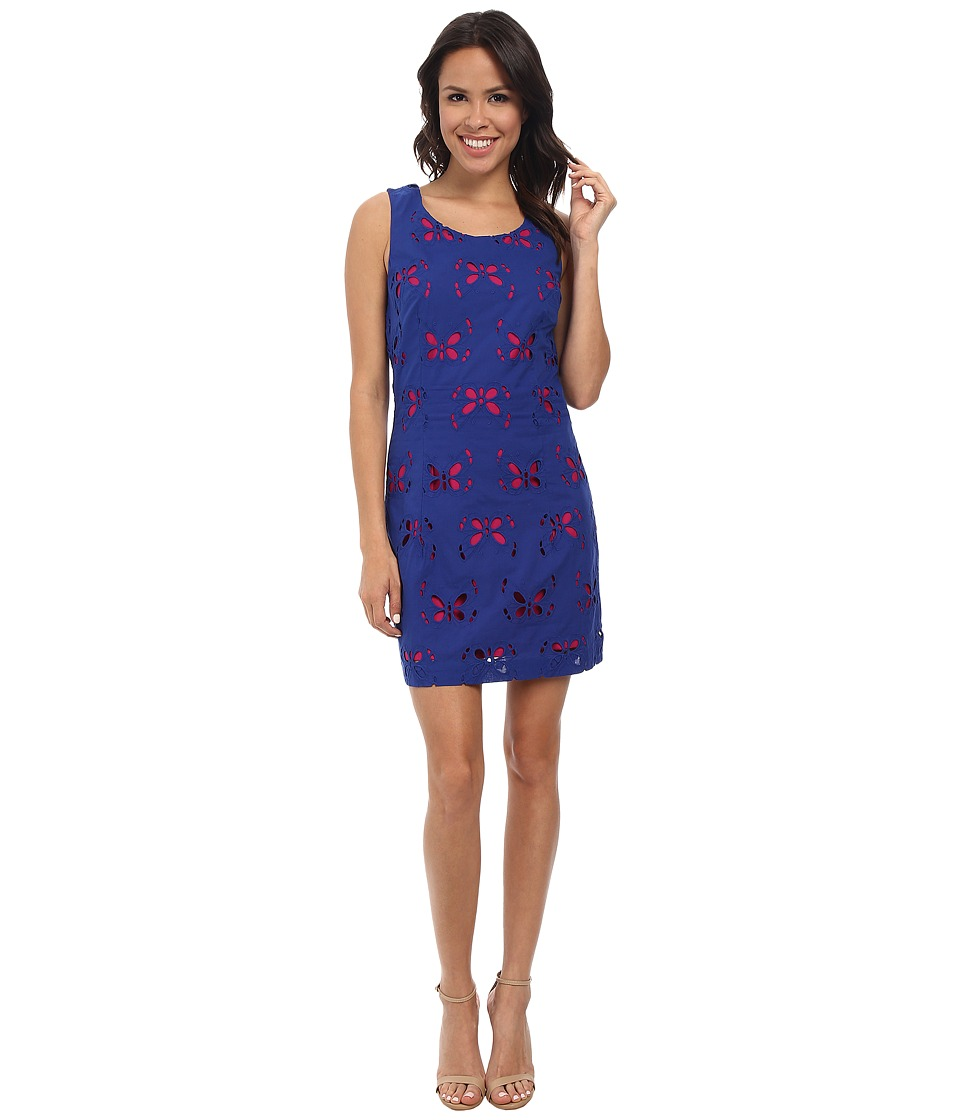 Hatley - Shift Dress (Fuchsia Butterflies) Women