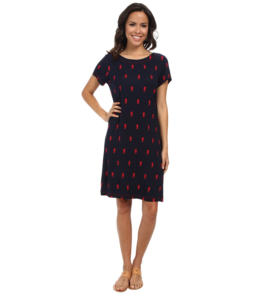 Hatley - T-Shirt Dress (Seahorses) Women's Dress