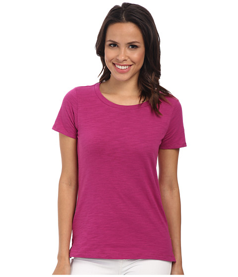 Hatley - Crew Neck Tee (Fuchsia) Women's Short Sleeve Pullover